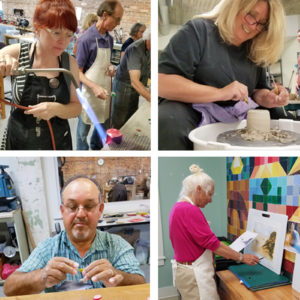 Pottery, Jewelry & Painting Classes