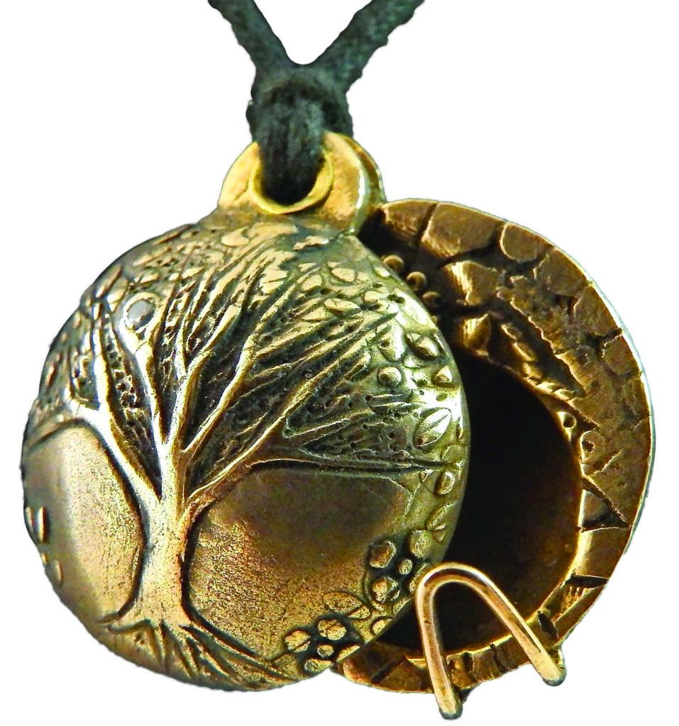 Janet Harriman Metal Clay jewelry example 2
