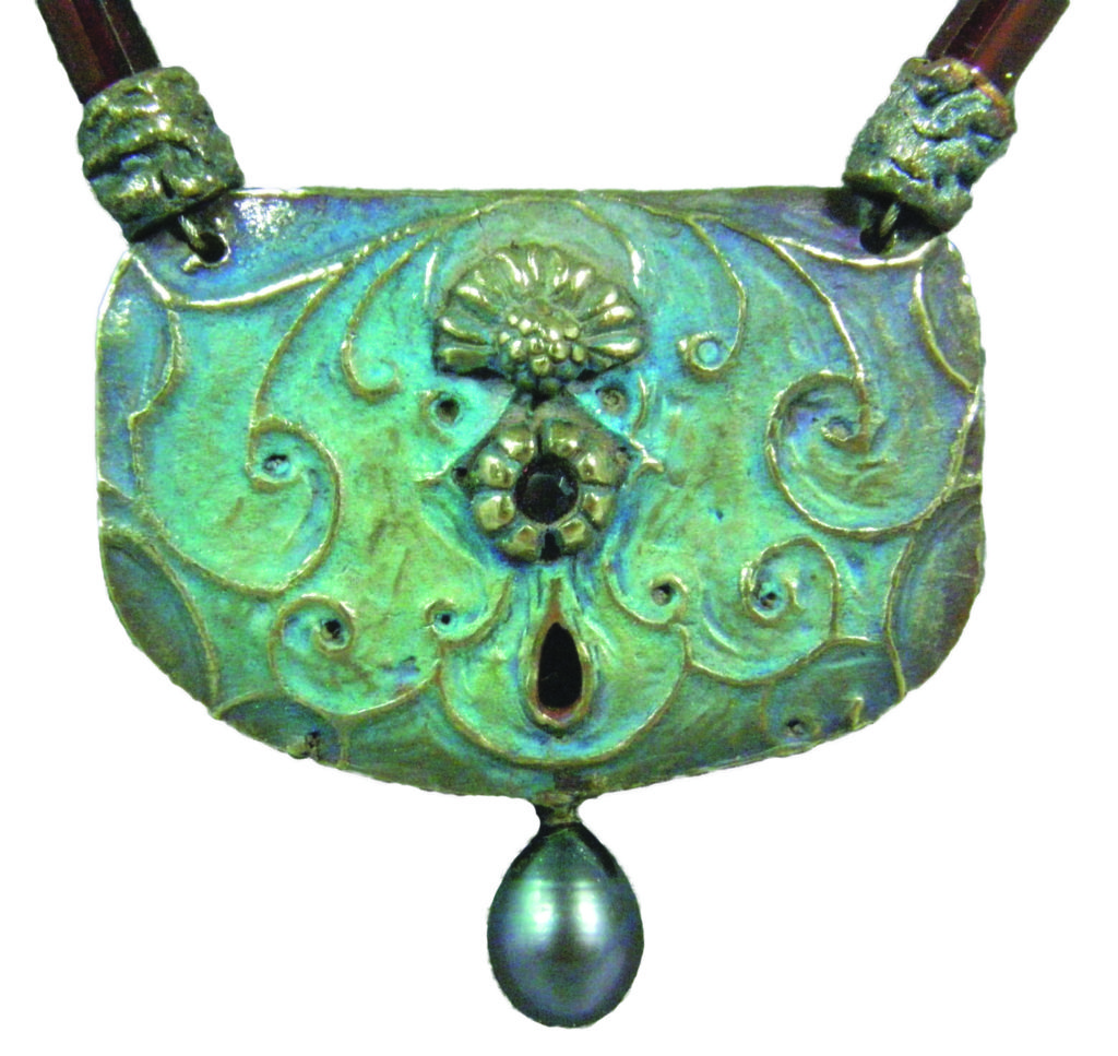 Janet Harriman Metal Clay jewelry example
