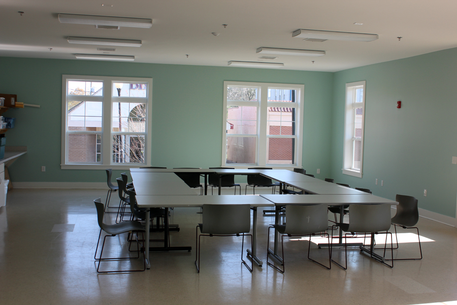 The studio 1 rental space is perfect for meetings, conferences, social events and more!