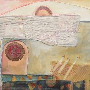 Pocosin Arts Gallery - Clare Murray Adams, Barn Door At Sunrise