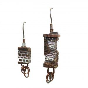 Pocosin Arts Gallery - Alexis Spina, Chimney Earrings