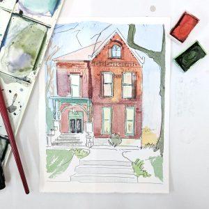 EGreer_Brick House In Progress - Eleanor Greer