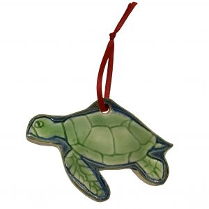 Pocosin Arts Gallery - James Lee Webb, Turtle Holiday Ornament