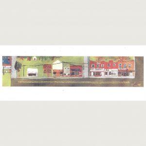 Pocosin Arts Gallery - Roy Smith, Main Street Columbia NC North Carolina Card