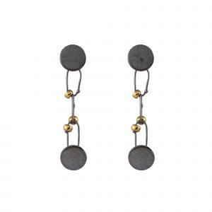 Raissa Bump Mini Drop Delicate Constellation Earrings