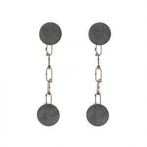 Raissa Bump Small Delicate Constellation Earrings