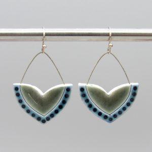 dotted dangle earrings - Alison Fawcett