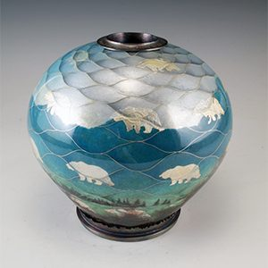 Harlan Butt Glacier Vessel Pocosin Arts Workshop January 21-25, 2020