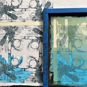 Joshua Cosimo_lucky green birds printing process