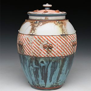 Mike Cinelli Vase Pocosin Arts workshop July 10-14, 2020