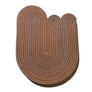 Pocosin Arts Gallery - Matt Repsher, Track Plate